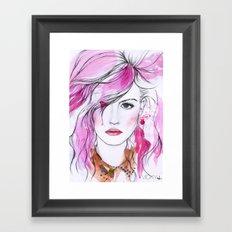 Charlotte Free Framed Art Print