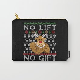 Christmas Funny Bodybuilder Gift Carry-All Pouch