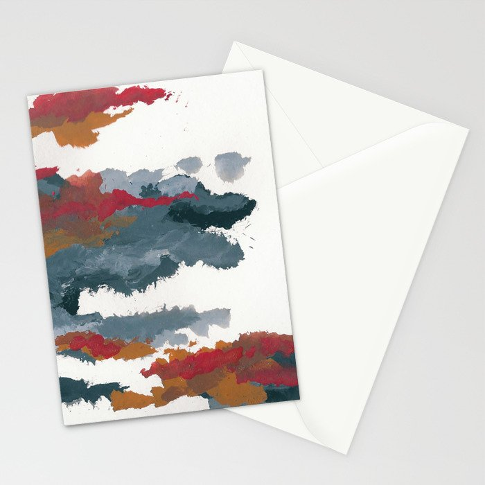 clouds_august Stationery Cards