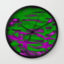 Power Squiggle Wall Clock