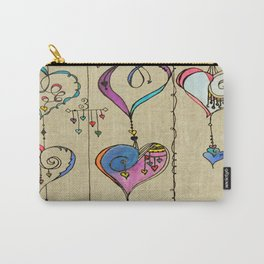 String of Hearts, Painful heart Carry-All Pouch