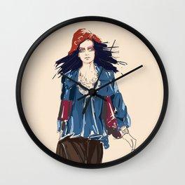 Galliano Fashion Wall Clock