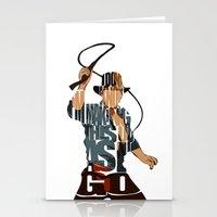 indie Stationery Cards featuring Indie by Ayse Deniz