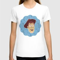 toy story T-shirts featuring Woody - Toy Story by Kuki