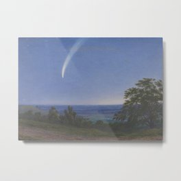 Donati's Comet by William Turner of Oxford Metal Print