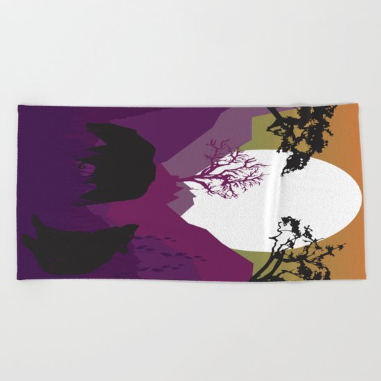 My Nature Collection No. 51 Beach Towel