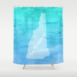 Sweet Home New Hampshire Shower Curtain