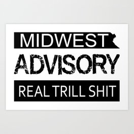 Midwest Advisory Art Print