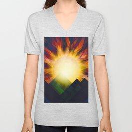 All i need is sunshine Unisex V-Neck