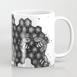 Teeming: Bees Coffee Mug