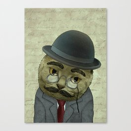 Vintage Cat Canvas Print