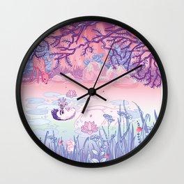Ophelia was a man Wall Clock