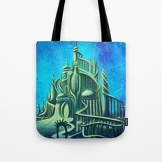 Mysterious Fathoms Below Tote Bag