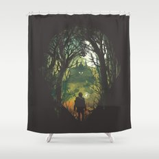 It's Dangerous to go Alone V.2 Shower Curtain
