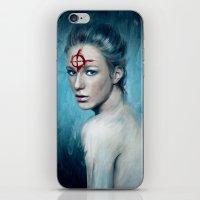 butt iPhone & iPod Skins featuring Butt by Anna Shellkova