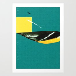 wing tear Art Print