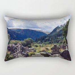 Glendalough, Ireland Rectangular Pillow
