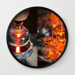 Syphon coffee Wall Clock