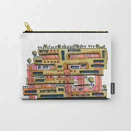 Urban Nature Building Architectural Illustration 62 Carry-All Pouch
