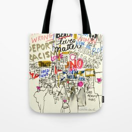 Voices Converge: Women's March on Washington Tote Bag