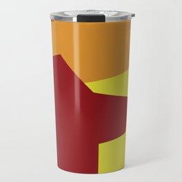 Minimalism Abstract Colors #5 Travel Mug