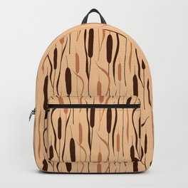 Cattails (Beige) Backpack
