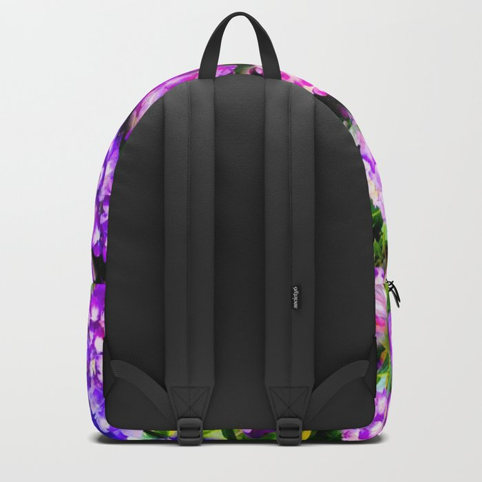 Elegant Purple & Lavender Hydrangea Backpack
