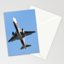ABX Air Boeing 767-232(BDSF) Miami Take-off Florida Airplanes  Stationery Cards