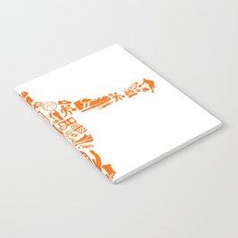 Basketball Art Dunk Notebook