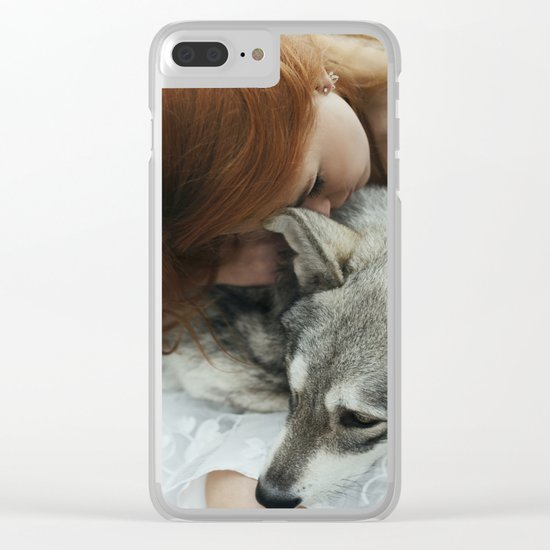 Girlwolf Clear iPhone Case