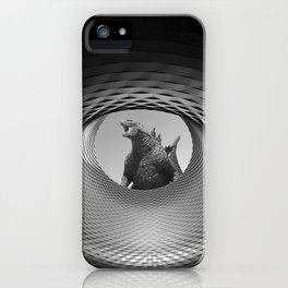 Architectural Gojira iPhone Case