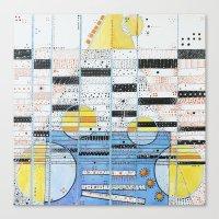 guitar Canvas Prints featuring Guitar by Nimai VandenBos