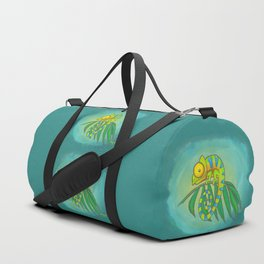 Colorful Chameleon! Duffle Bag