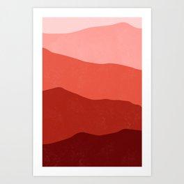 700 nm Art Print