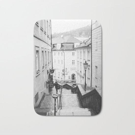 Streets Of Prague Bath Mat