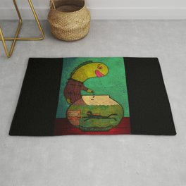 one lost soul Rug