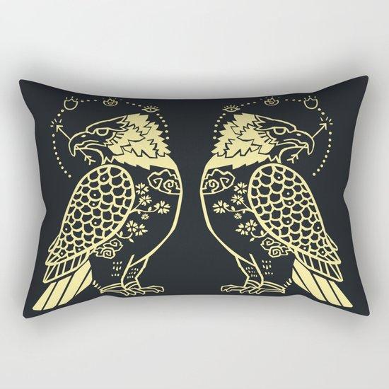 Messenger of Fire and Air Rectangular Pillow