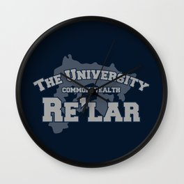 The University: Re'lar - The Name of the Wind Wall Clock