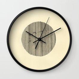 O (sem título) Wall Clock