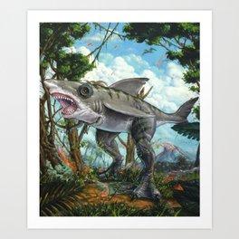 T-Shark Art Print