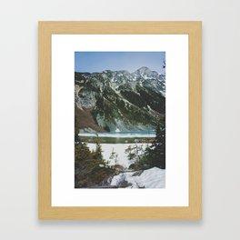 joffre lakes (10) Framed Art Print