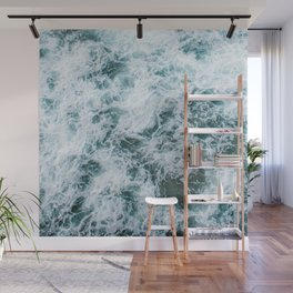 Waves in Abstract Wall Mural