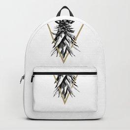 Pineapple Upside Down Geo #1 #tropical #fruit #decor #art #society6 Backpack