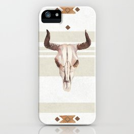 Skulls and Southwest Dreams iPhone Case
