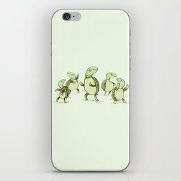 Dancing Turtles iPhone Skin