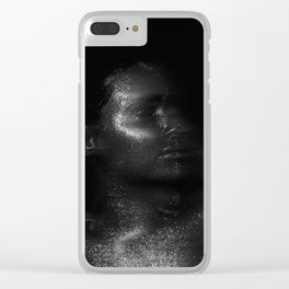 Far Above the Moon Clear iPhone Case