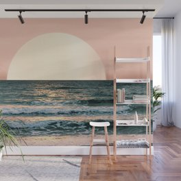 Summer Sunset Wall Mural