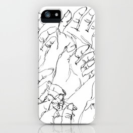 I Gotta Hand It To You iPhone Case