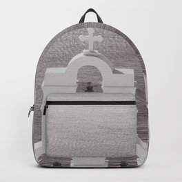 Church in Santorini Backpack