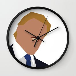 FOGS's People wallpaper collection NO:01B TRUMP PNG Wall Clock